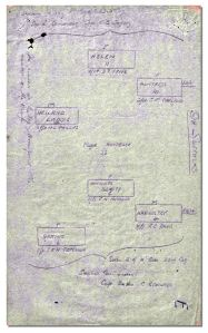 Part of the 9th Suffolks' Operation Order for the Battle of Cambrai