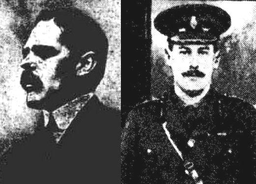 Major Hon. C H Lyell and Captain A A Mackintosh of Mackintosh, yr
