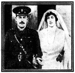 The Wedding of Captain Angus Mackintosh and Lady Maud Cavendish