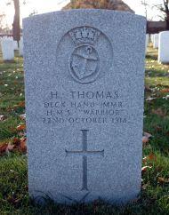 Deck Hand Herbert Thomas, Mercantile Marine Reserve