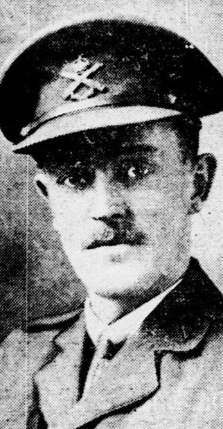 Lieutenant William Strong, Canadian Machine Gun Corps
