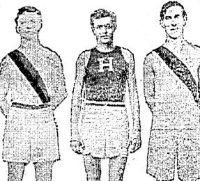 William Strong (centre), Princeton Cross Country, 1908