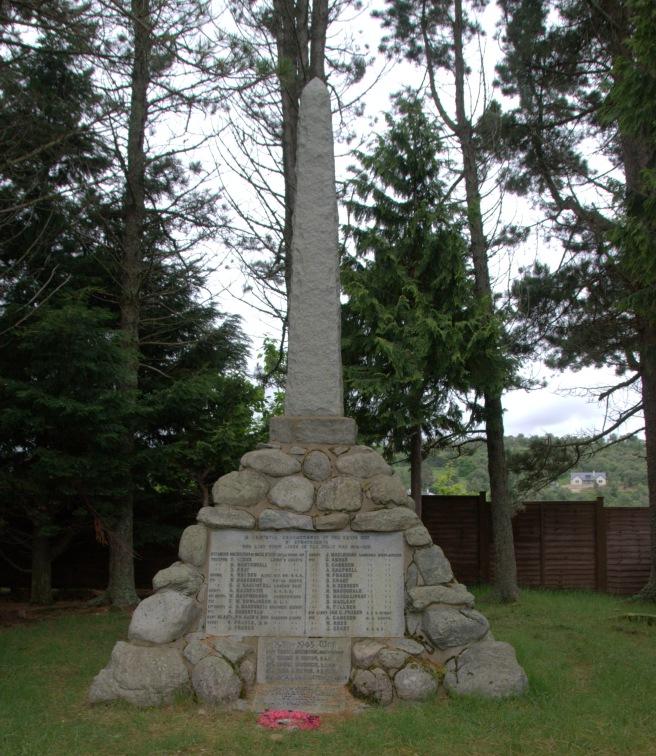 Strathdearn War Memorial