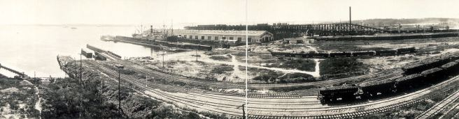 Port Covington, Western Maryland Railroad Yards, 1913