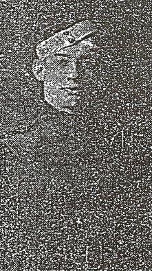 Cadet Arthur William Webster Eden