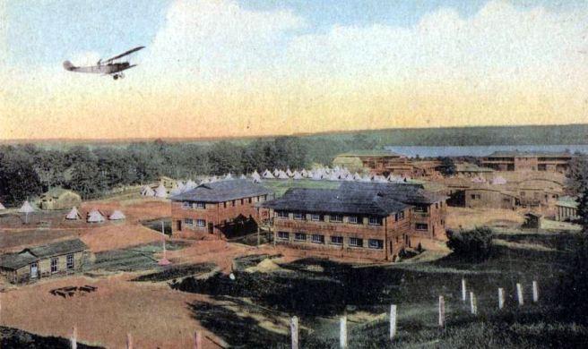 Camp Mohawk in 1918