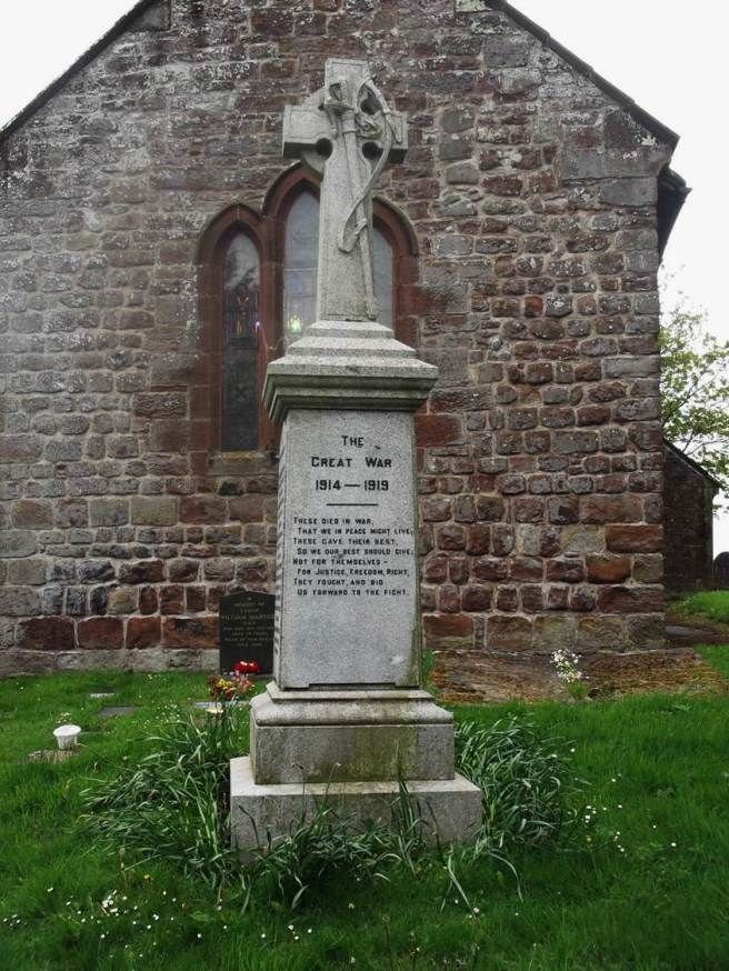 Crosscanonby War Memorial