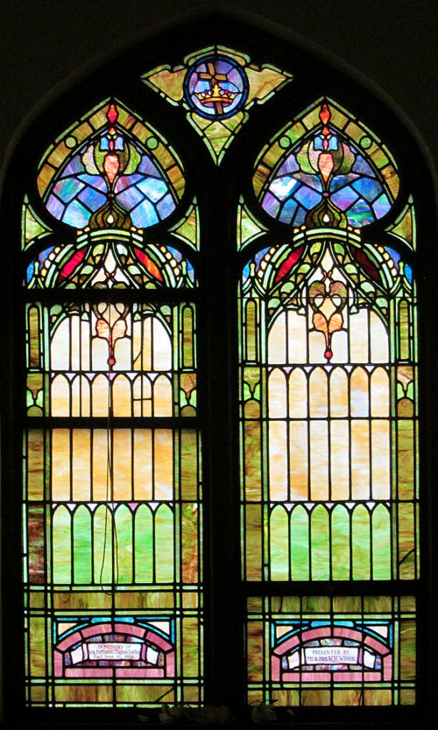 Memorial Window dedicated to William Pattinson