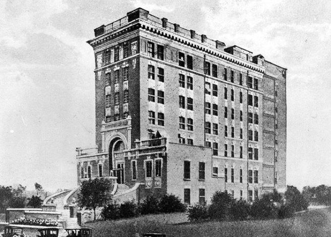 Baptist Hospital, Memphis, 1912