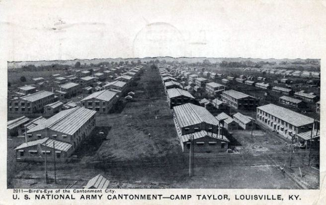 Camp Zachary Taylor, 1917