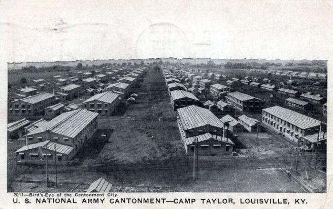 Camp Zachary Taylor, 1917