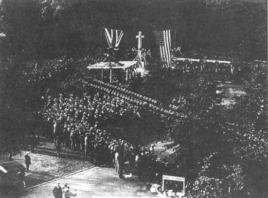 The Unveiling, 11 November 1927