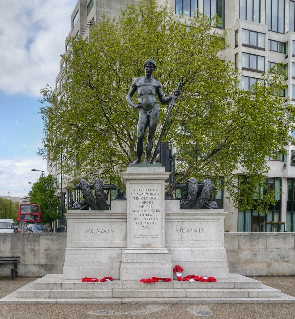 The Machine Gun Corps Memorial