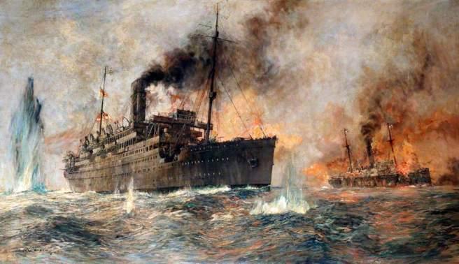 'Alcantara in Action' by Charles Edward Dixon