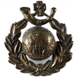 The badge of the Royal Marine Light Infantry