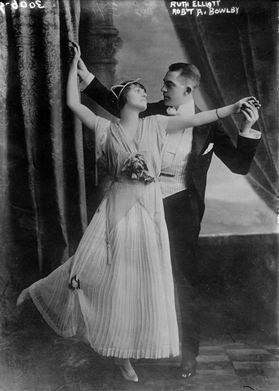 Miss Ruth Elliott and Robert Archer Bowlby