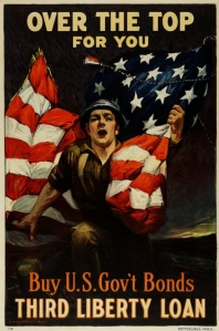 Advertising Poster for the Third Liberty Bond