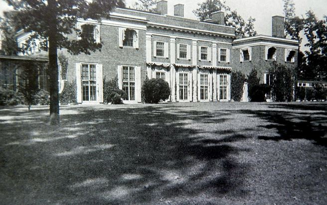 The home of Arthur Burden at Jericho, Long Island