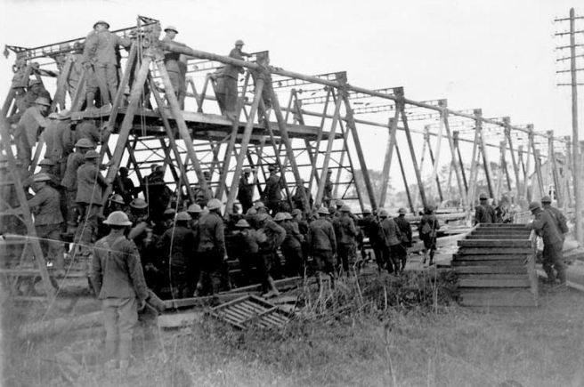 Canadian Railway Troops, 1918