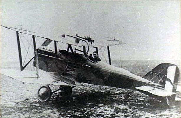 SE5a of No. 40 Squadron