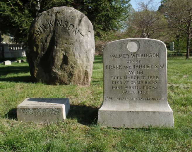 The grave of Palmer Wilkinson Taylor