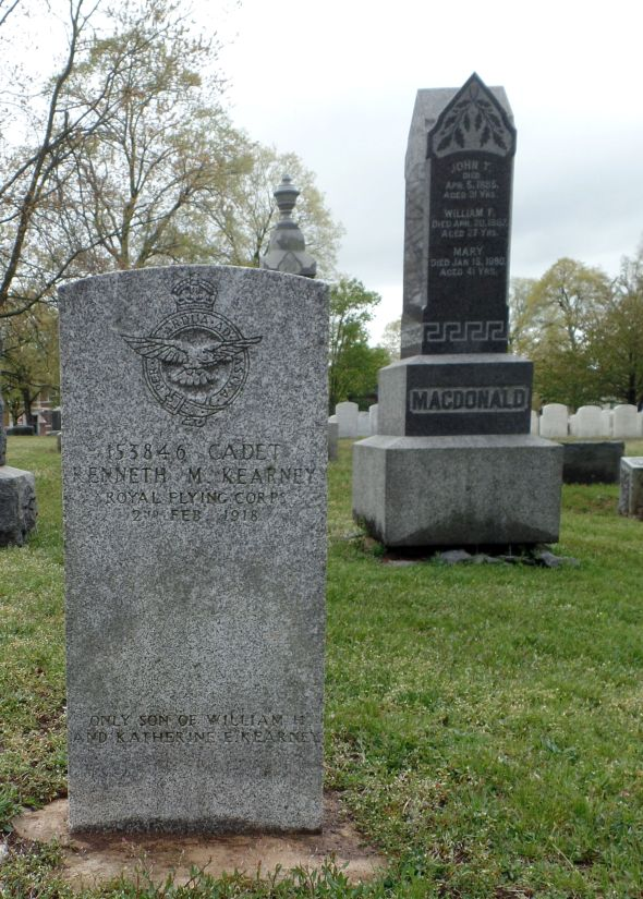 The grave of Kenneth MacDonald Kearney