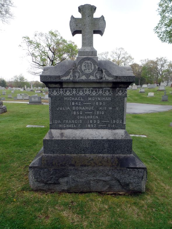 The grave of Michael Moynihan