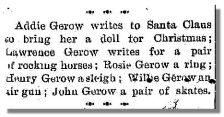 Christmas wishes, 1903