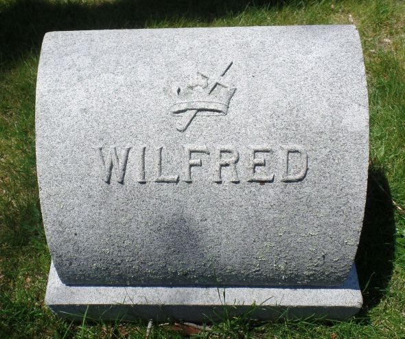 The grave of Wilfred Cecil Alcock