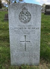 The grave of Clifford Norman Murray